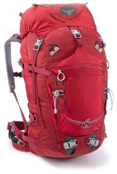 Awesome for Ski Mountaineering, Ice Climbing, & Rock Climbing — Osprey Variant 52 Pack