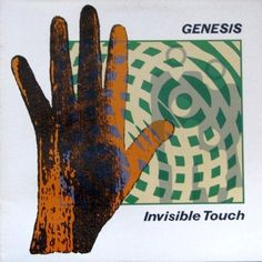Genesis - Invisible Touch CANADA 1986 Lp nm with Inner