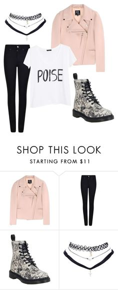 """""""BTS 방탄소년단 'RUN' M/V : V"""" by woahvernon ❤ liked on Polyvore featuring McQ by Alexander McQueen, Giorgio Armani, Dr. Martens, Wet Seal and MANGO"""