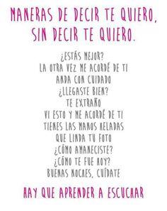 """diciendo Te Quiero - Te amo! - ways to say """"I love you"""" - Maneiras de decir """"Te quiero"""""""