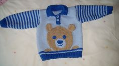 Hand Knitted Teddy Jumper £13.00
