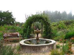 The Melissa Garden, Healdsburg, CA
