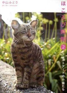 Midori Nakayama's Needle Felting Realistic Cats