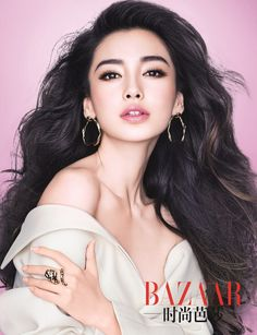 Hong Kong's Hottest Model, Angelababy, Poses for BAZAAR and Talks about Looking Good, Having Dreams, and her Boyfriend - Vision Times Sexy Make-up, High Fashion Makeup, Angelababy, Photoshoot Makeup, Beauty Portrait, Asia Girl, Elegant Hairstyles, Beautiful Asian Women, Look At You