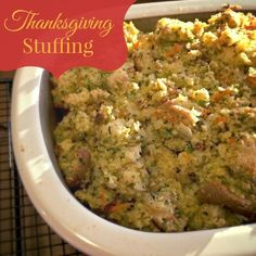 Twitchetts: Thanksgiving Stuffing...from Scratch!