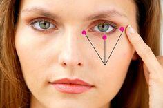 Как избавиться от отёчности, синевы под глазами