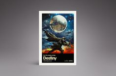 This is the Destiny the Game Poster from Verge's 2014 Holiday Gift Guide: http://www.theverge.com/a/holiday-gift-ideas-2014/25-100/#destiny-the-game-poster