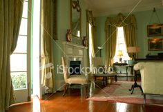 southern home interiors pictures   Southern Home Interior Royalty Free Stock Photo