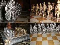 When accessorizing a home office, library or a stylish coffee table, nothing says sophistication quite like a home chess set. A basic chess set is easy to come