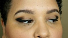 LOTW: A Cat Eye With a Smoky Outer Crease. And it takes just two shadows!