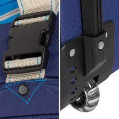 Bogi Bag 40 Liter Reisetasche Reisekoffer Trolley Rollen - Farbwahl