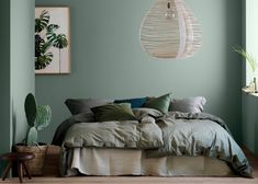 Fine Deco Chambre Kaki Et Beige that you must know, You?re in good company if you?re looking for Deco Chambre Kaki Et Beige Green Bedroom Colors, Bedroom Color Schemes, Green Rooms, Colour Schemes, Hippie Style Rooms, Hippy Room, Amazing Decor, Room Ideas Bedroom, Bedroom Decor