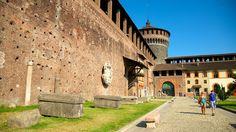 スフォルツェスコ城 / ミラノ旅行