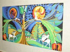 A MAGYAROK TUDÁSA: Mágikus világkép és rovások - Világfa - Életfa - Égigérő fa - Tetejetlen fa Folk, History, Night, Frame, Artwork, Decor, Clothes, Decorating, Work Of Art
