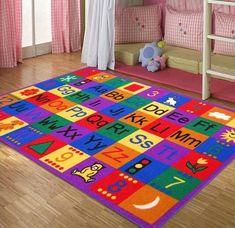 Best Rugs For Children Kids Rooms, Kids Area Rugs Kid Carpet Alphabet Carpet For Kids Room Rugs For Kids Plush Carpet, Rugs On Carpet, Carpet Flooring, Buy Carpet, Inexpensive Rugs, Girls Rugs, Kids Area Rugs, Carpets For Kids, Childrens Rugs