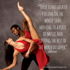 Let the world disappear #dance #quotes #dancequote