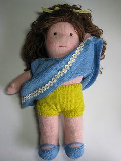 Ravelry: Felted Waldorf Doll pattern by Lynn Matthies