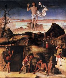 Resurrection of Christ by Giovanni Bellini