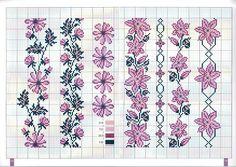 Gallery.ru / Фото #6 - 56 - uni4ka  Small floral borders in purples.