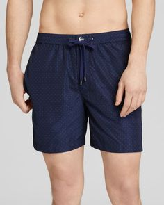 Michael Kors Pindot Surf Shorts