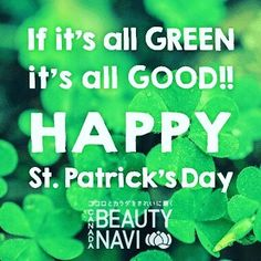 Happy #stpatricksday  hope your day is #lucky