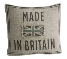 British Pillow