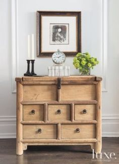 An Updated 1891 #gold Coast Greystone's #antique #livingroom Chest. | See MORE at www.luxesource.com. | #luxemag #interiordesign #design #interiors #homedecor