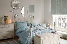 Furniture, Round Decorative Mirror Cool Ideas For Decorating A Bedroom: Eye-Catching Decorative Wall Mirrors