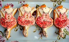 Angelina Ballerina Cookies