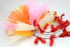 Curls mesh wreath Tutorial