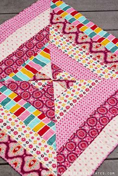 baby quilt by ohsohappytogether, via Flickr