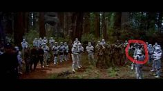 That there is Stormtrooper with his helmet off in Return of the Jedi . | 26 Things You Probably Never Noticed That Will Blow Your Mind