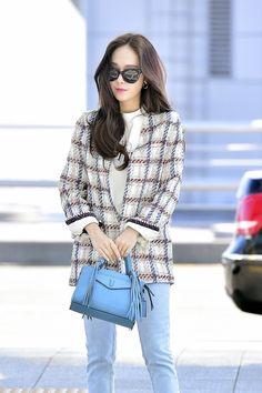 Jessica & Krystal, Krystal Jung, Airport Fashion, Airport Style, Jessica Jung Fashion, Classy Chic, My Princess, Snsd, Girls Generation