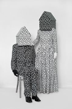 Textile Covered People by Guda Koster | http://www.yellowtrace.com.au/guda-koster-textile-covered-people/