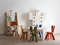 Cool Ecological and Funny Playroom Furniture by Hiromatsu | If you are looking for ecological and modern playroom furniture for your child then maybe this awesome Hiromatsu furniture design is the perfect fit for your child's playroom.
