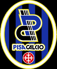 Pisa Calcio Soccer Logo, Football Team Logos, Sport Football, Soccer Teams, Sports Logos, Football Italy, Team Mascots, Pisa, Great Logos