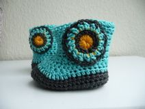 Baby-Booties / Babyschühchen / Boots Applikation