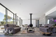 Comporta Residence by RRJ Arquitectos Situated in Comporta, Portugal, this elegant concrete residence was designed by Rui Pinto Gonçalves of RRJ Arquitectos.