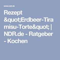 "Rezept ""Erdbeer-Tiramisu-Torte"" | NDR.de - Ratgeber - Kochen"