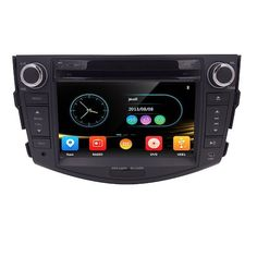 9. HIZPO 7 Inch In Dash HD Touch Screen Car CD DVD Player FM/AM Radio RDS Stereo GPS Navigation Map Card for Toyota RAV4 2006-2012