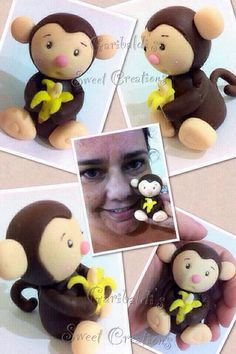 My cute animal - polymer clay!! ->  Garibaldi's Sweet Creations (Biscuit - cold clay, Polymer clay, Fimo)