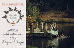 Gelin Röportajları – Sema ve Nejat'ın Atatürk Arboretum'unda Düğün Hikayesi