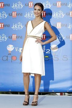 Jessica Alba at the 2012 Giffoni Film Festival