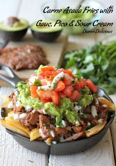 Carne Asada Fries. replace potato with turnip fries