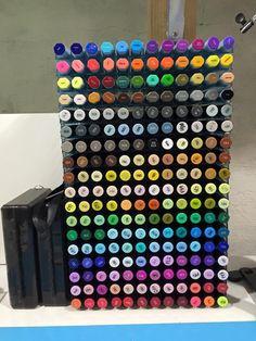 Design Team member Brianna Shares her Spectrum Noir Storage. #spectrumnoir #storage #craft
