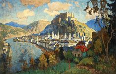 Konstantin Gorbatov - landscape Austria
