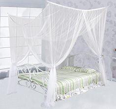Just Relax Four Corner Post Elegant Mosquito Net Bed Cano... https://www.amazon.com/dp/B06XTZTVJ1/ref=cm_sw_r_pi_awdb_x_CHQuzb23TSA6E