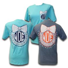 Comfort Color WDE Bow T-shirt, $27.99 available in-store and online!!