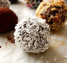 "Two-Step Truffles: ""My husband said these taste professionally made! I rolled some in toasted coconut, some in ground walnuts and a few in sifted cocoa powder."" -Cookie in Ontario"