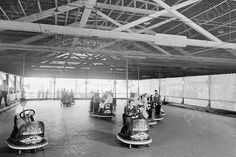 Glen Echo Skooter Bumper Cars 4x6 1920s Reprint Of Old Photo